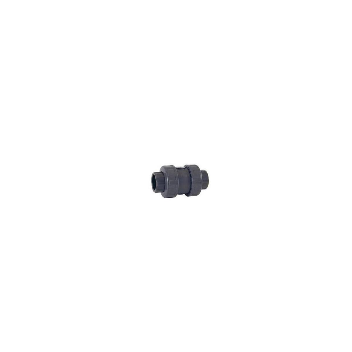 VALVULA ANTIRETORNO PVC-U (EPDM) roscar