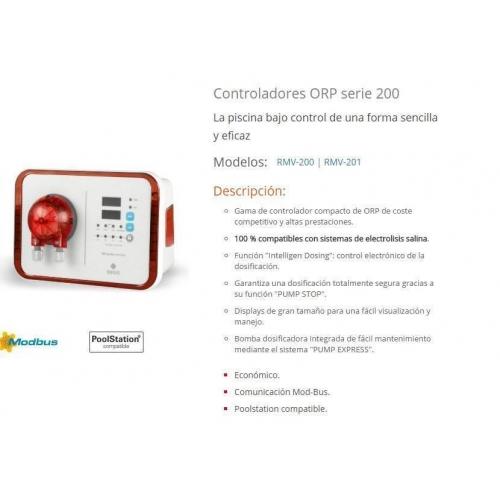 CONTROLADOR ORP AUTOMATICO + BOMBA DOSIFICADORA IDEGIS