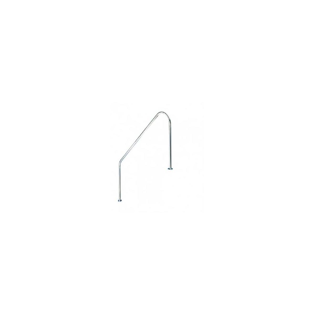 Barandilla con 2 curvas Flexinox