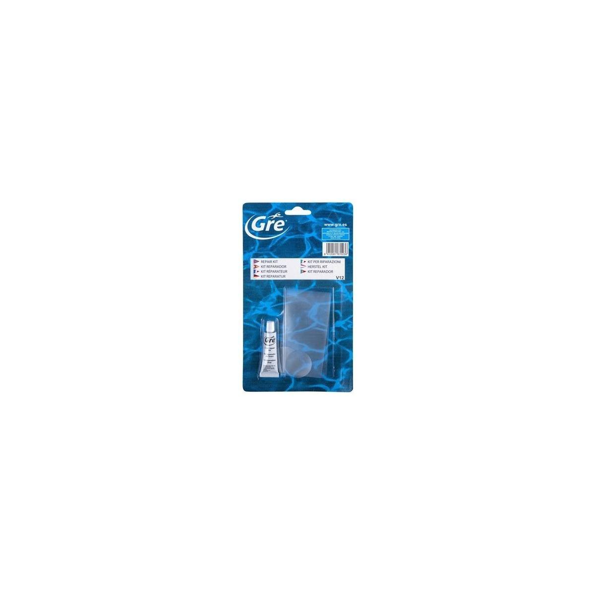 Kit reparador PVC (incluye parches)