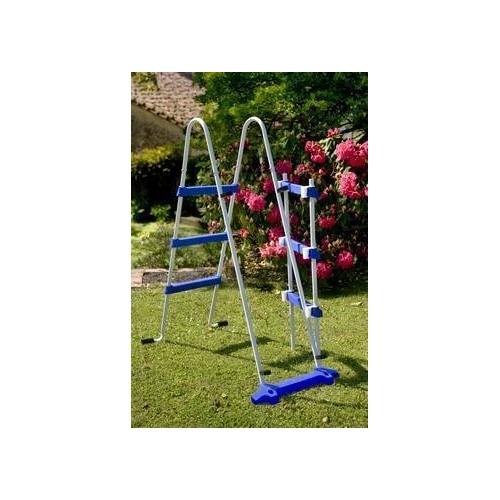 Escalera para piscinas de seguridad para piscinas de 120 cm