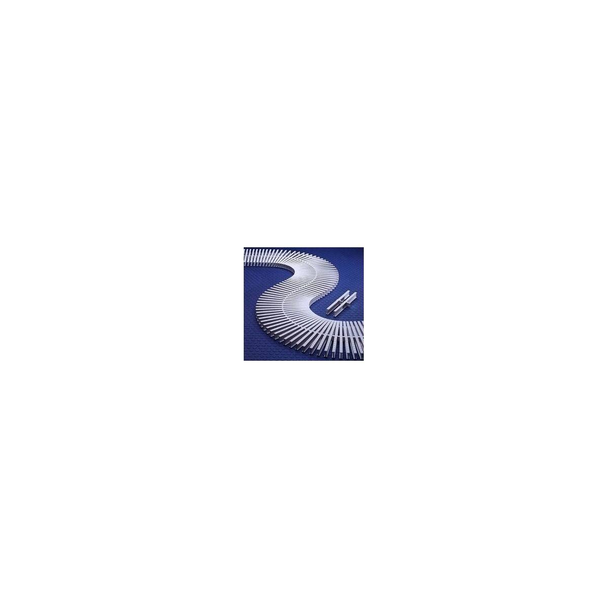 Rejilla transversal para curvas reversible