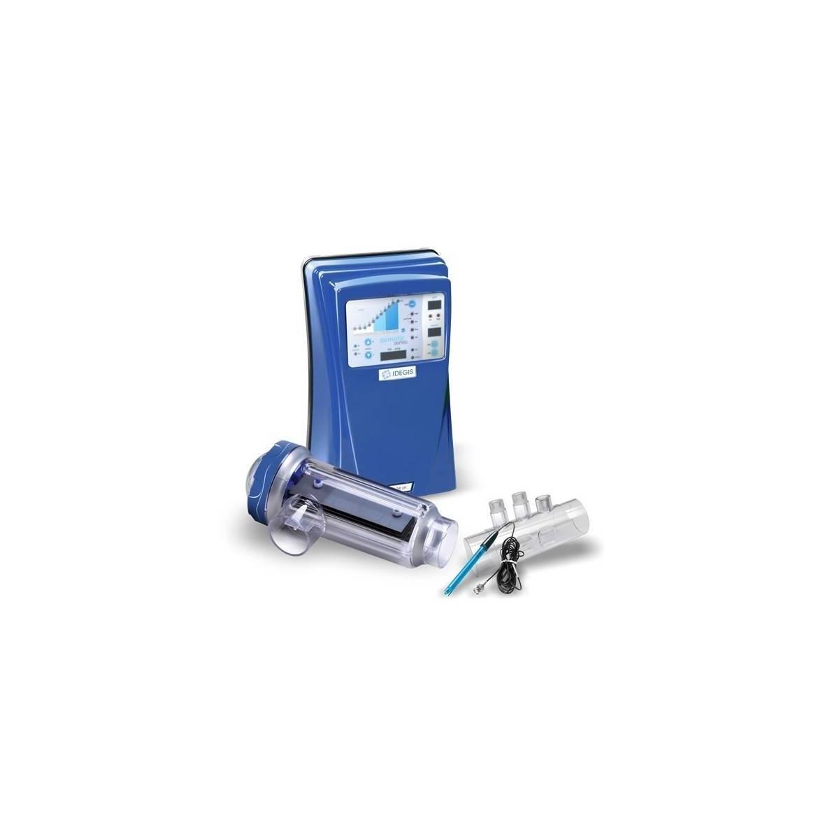 Clorador salino Idegis Domotic con control pH