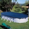 Cubierta de invierno para piscina Gre ovalada