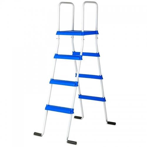 Escalera piscina 133cm 2x3 peldaños + plataforma Gre ET1300