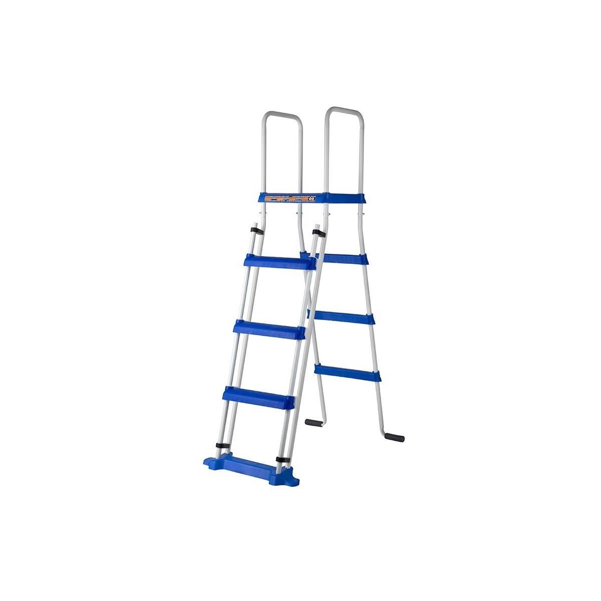 Escalera de seguridad con plataforma Gre 134 cm 2x3 peldaños ES1150