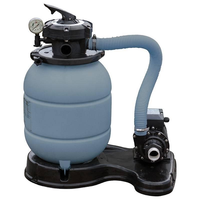 Filtro de arena gre depuradora piscina con bomba for Piscinas rectangulares con depuradora