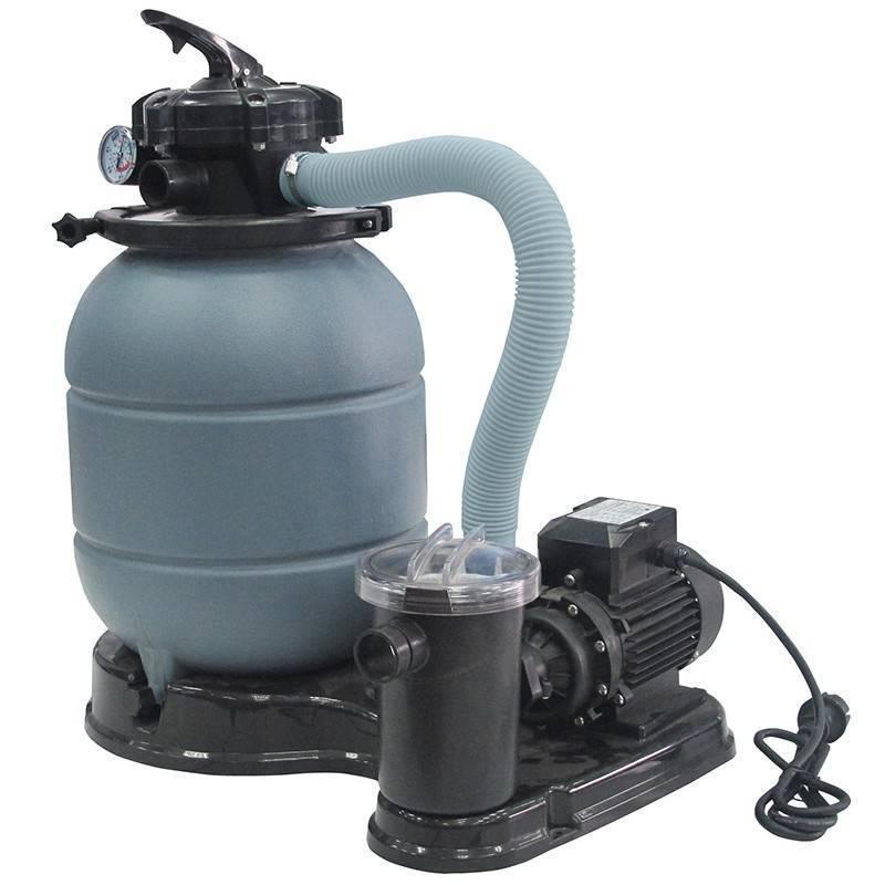 Filtro de arena gre depuradora piscina con bomba for Piscinas rectangulares desmontables con depuradora