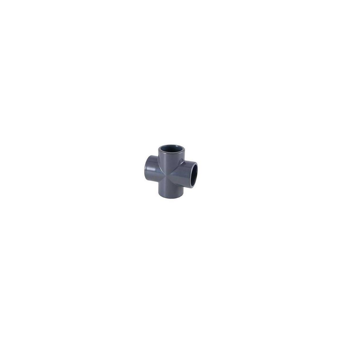 PVC CROSS solvent socket
