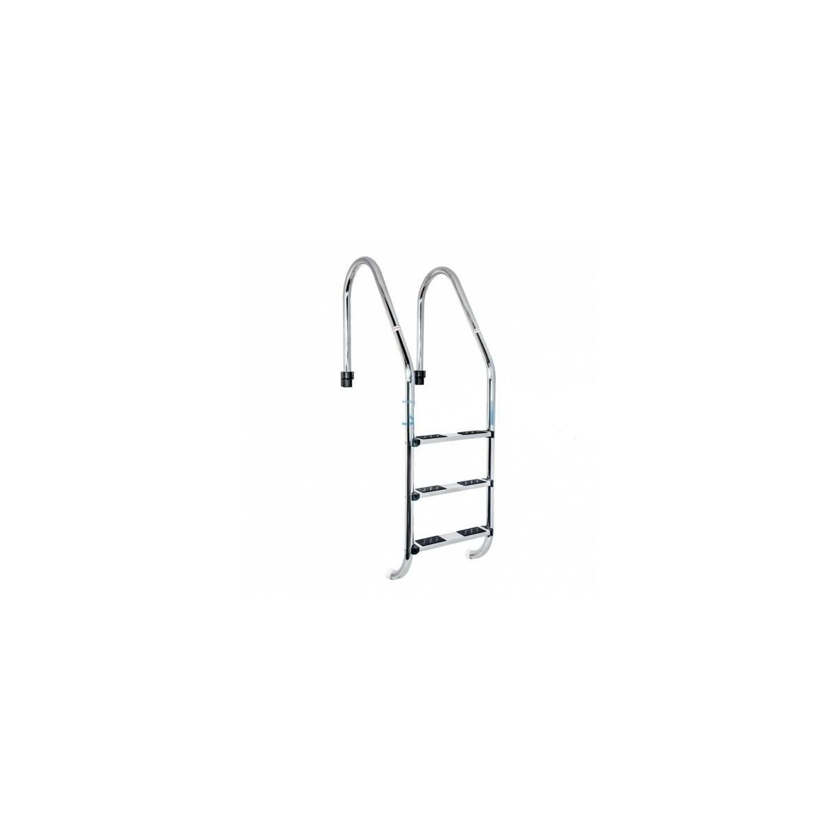 Escalera Standard AISI-304 2 peldaños antideslizante-Coral