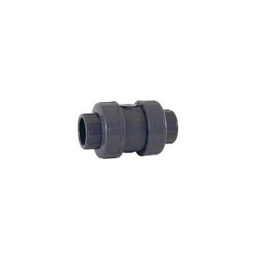 PVC-U CHECK VALVE (EPDM) solvent socket
