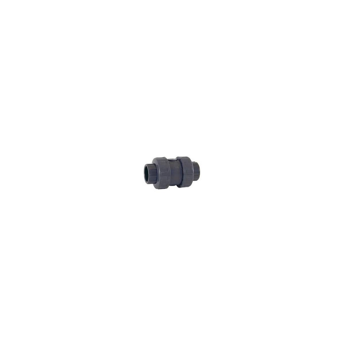 VALVULA ANTIRETORNO PVC-U (EPDM) encolar