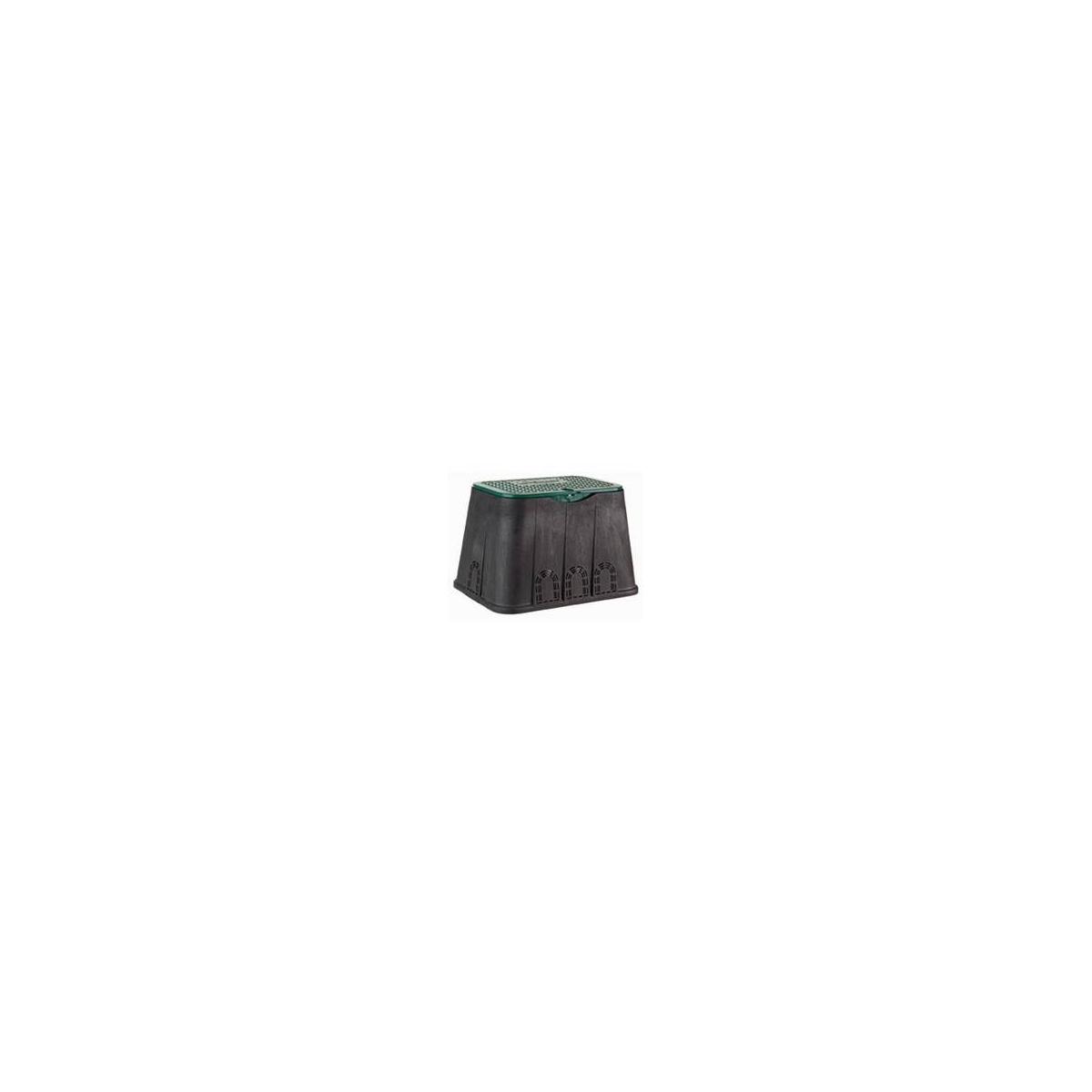 RECTANGULAR VALVE BOX WITH SCREW FIXING LID