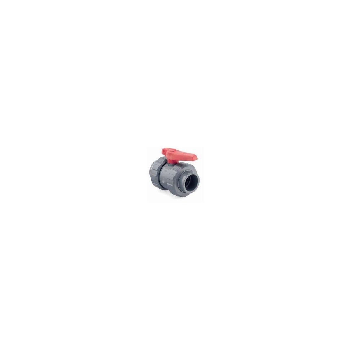 PVC-U [STD] BALL VALVE (PE-EPDM) solvent socket
