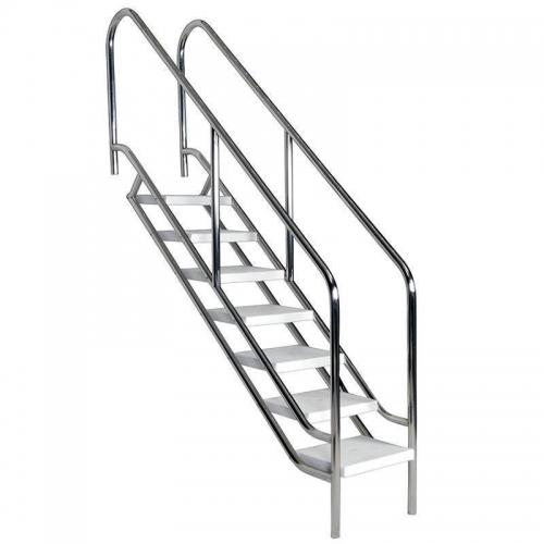 Escalera clásica de acceso a piscina publica 500 mm
