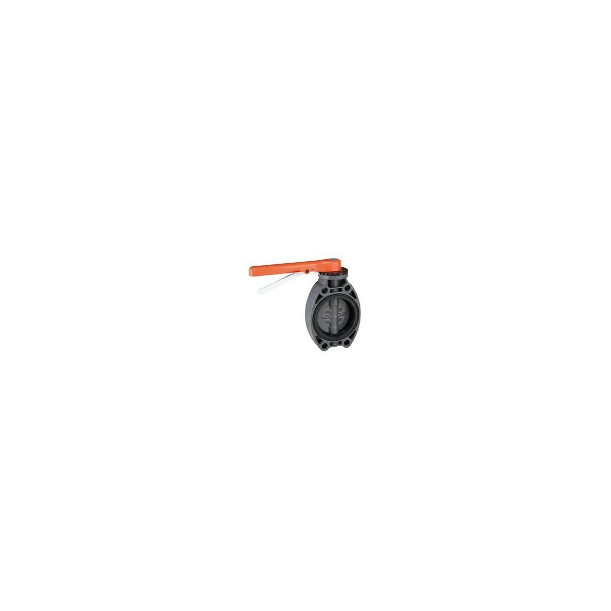 Válvula de mariposa PVC Cepex Serie Standard EPDM