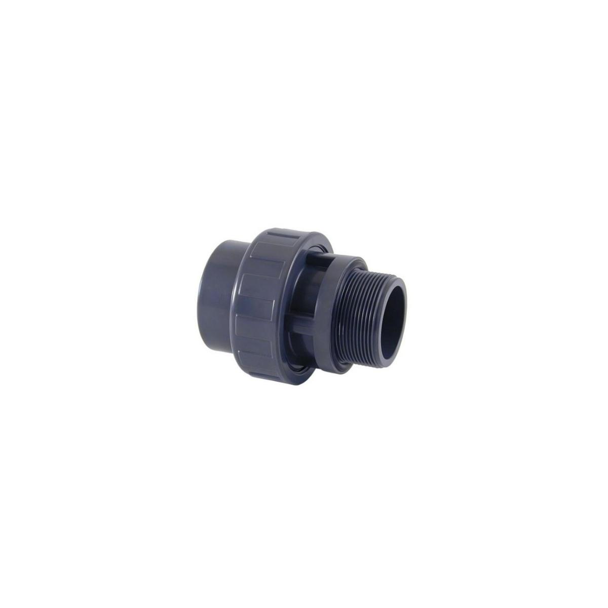 PVC 3 PIECE UNION solvent socket