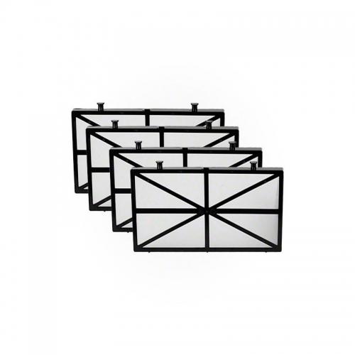 Kit filtros supreme M4 (4 paneles)