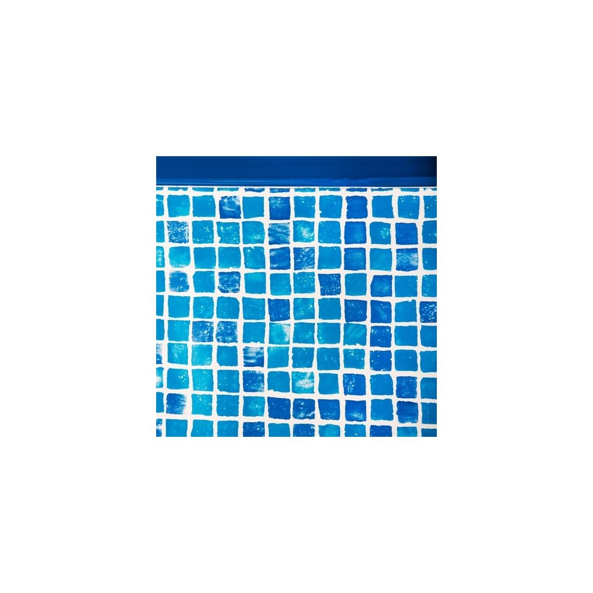 Liner Gresite piscina Gre ovalada 50/100 altura 132 sistema colgante