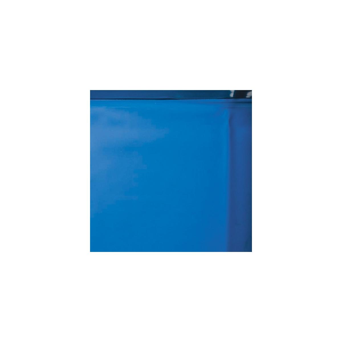 Liner Azul piscina Gre ovalada 75/100 - Altura 120 - Sistema Overlap