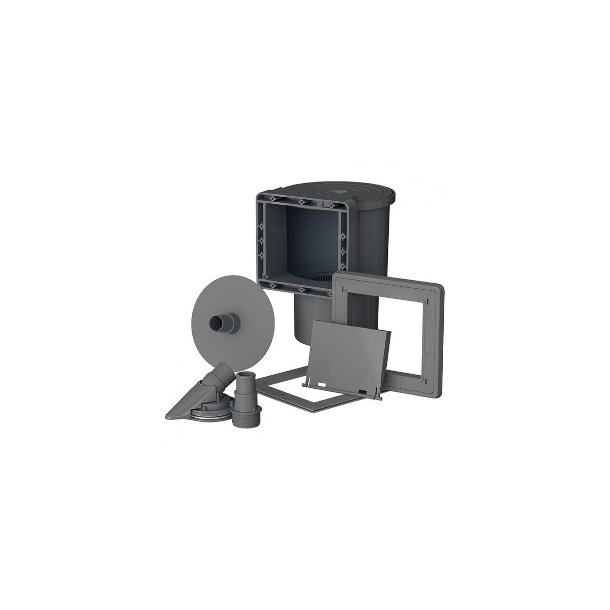 Skimmer gris y boquilla de impulsión Gre AR100G