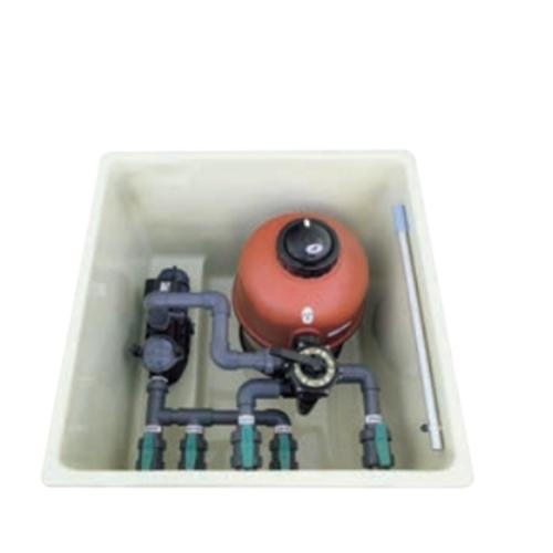 Compacto enterrada con filtro Rubi