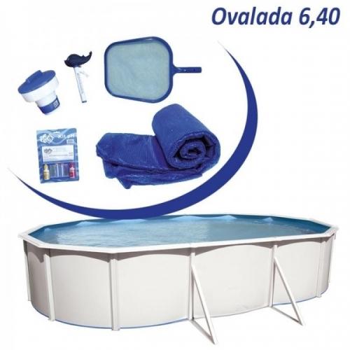 Piscina Desmontable Toi Mallorca 640 + Kit verano