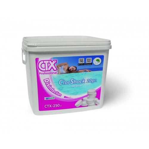 Compactos ClorShock 5kg CTX-250 (Compra mínima 20kg)