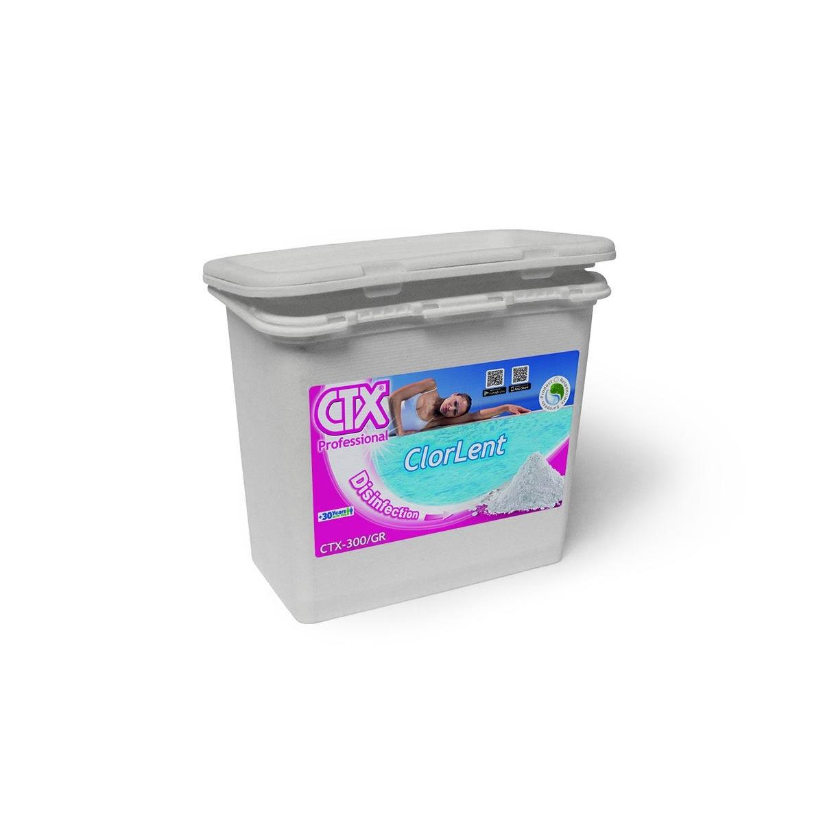 Cloro en polvo ClorLent CTX-300  5kg (Compra mínima 20kg)