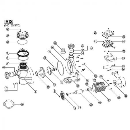 Pump basket IRIS/ SILEN I/ NOX33