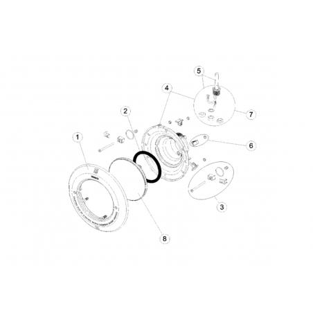 Aro Blanco Proyector AstralPool