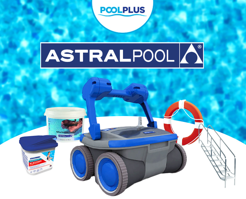 Astralpool, productos indispensables para piscina