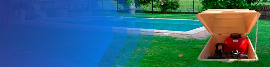 Casetas depuradoras para piscina y filtros para piscina