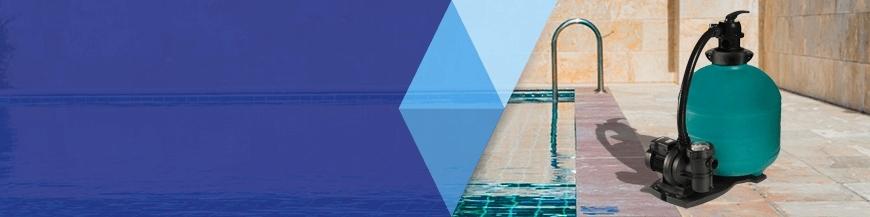 Kits de filtración piscina elevada