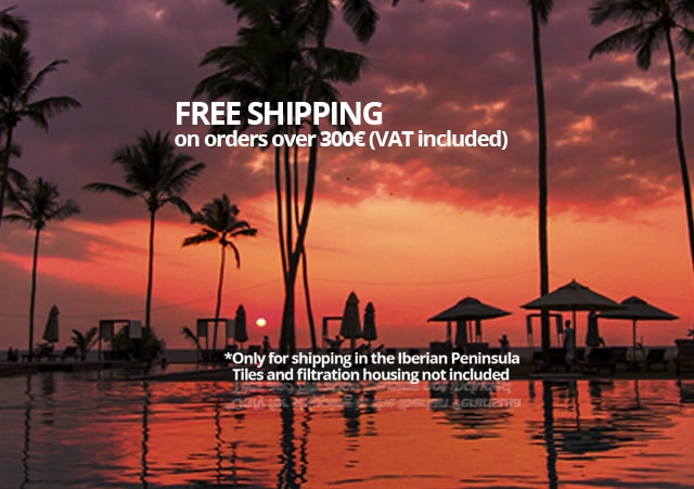 Free shipping on orders over 300 euros