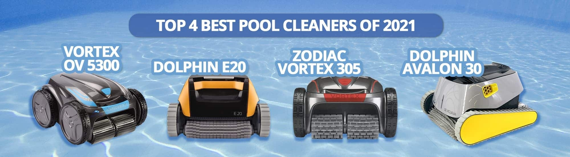 Top three best pool cleaners of 2020