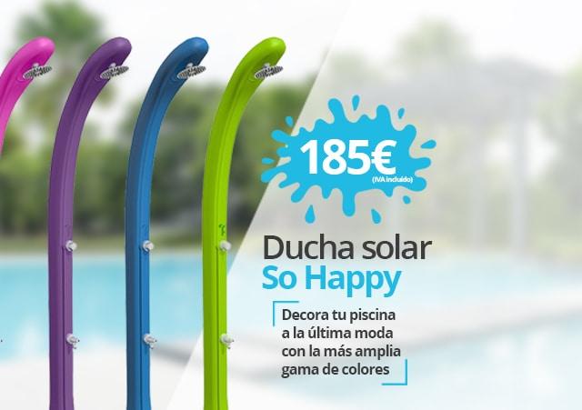 Ducha solar So Happy