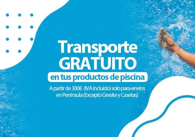 Transporte gratuito a partir de 300 euros