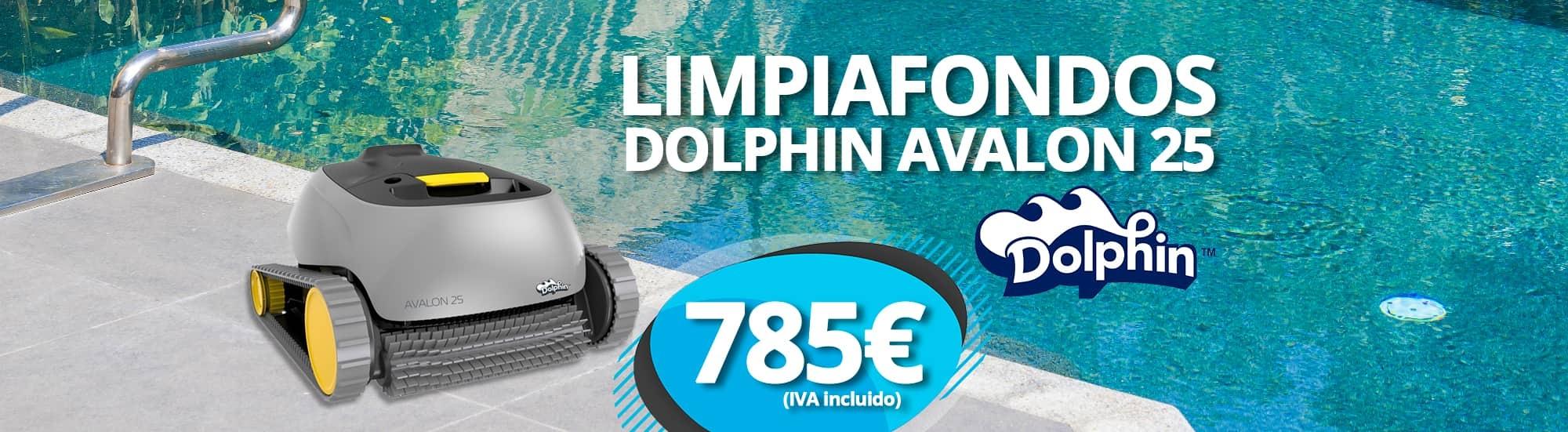 Limpiafondos Dolphin Avalon 25