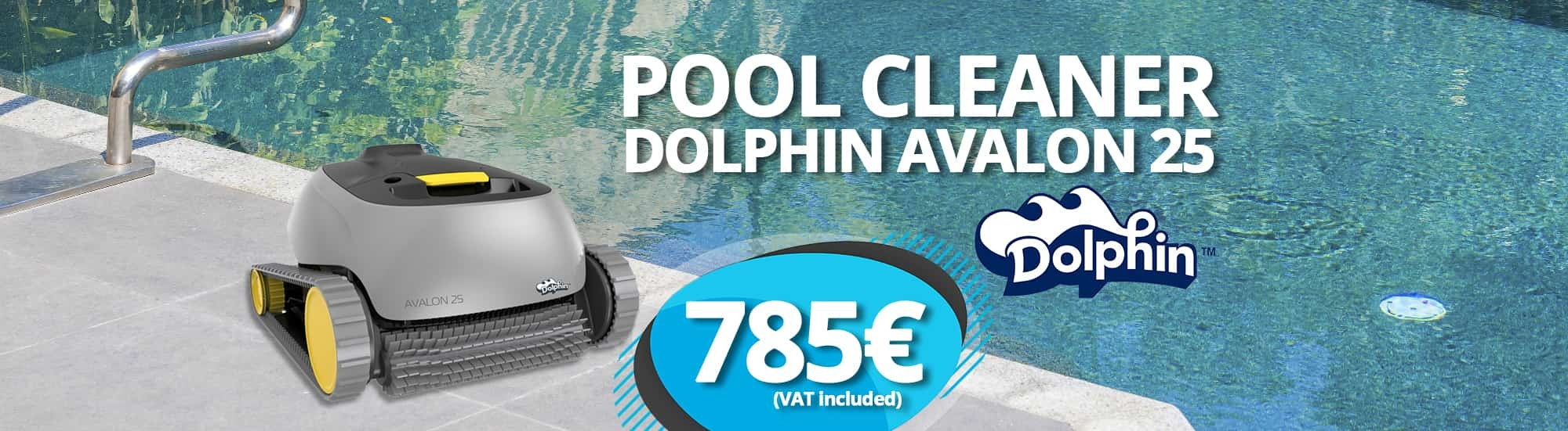 Pool Cleaner Dolphin Avalon 25