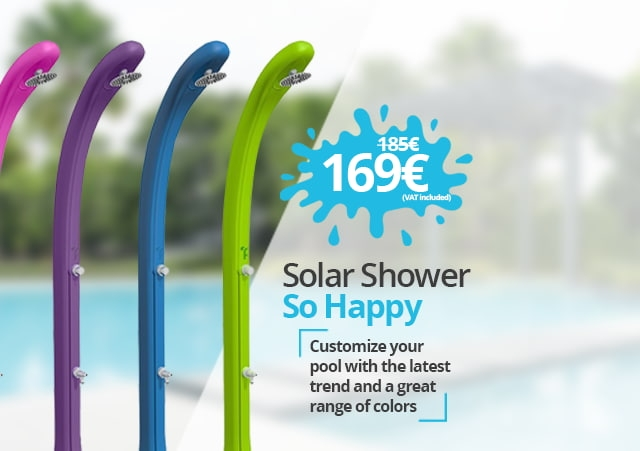 Solar Shower So Happy